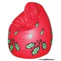 Red Cherry Printed Comfortable Branded XXL Sized Bean Bag