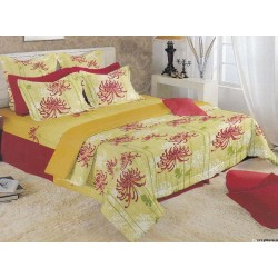 Premium Cotton Satin Bed sheet